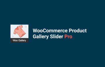 WooCommerce Product Gallery Slider Pro